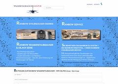 Internetauftritt Rainbow Wasserstaubsauger - Rainbow Agentur Reutlingen - Rainbow Wasserstaubsauger Vertrieb + Service