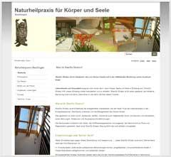 Internetauftritt Naturheilpraxis für Körper und Seele Reutlingen ShenDo Shiatsu - Vinyasa-Flow-Yoga - Akupunktur - Homöopathie - Ernährungsberatung