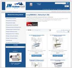 Internetauftritt JH Technikteam - Medizintechnik